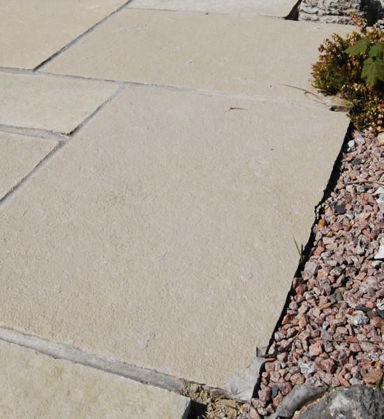 Giallo Limestone Paving