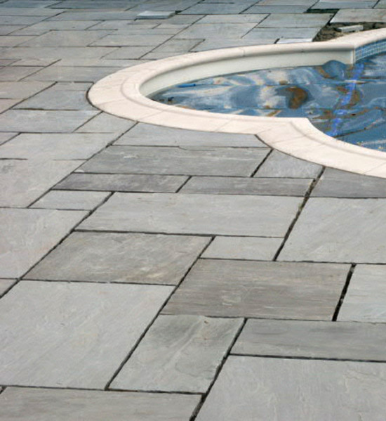Argento Calibrated Sandstone Paving