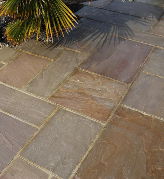 Verdi Sandstone Paving