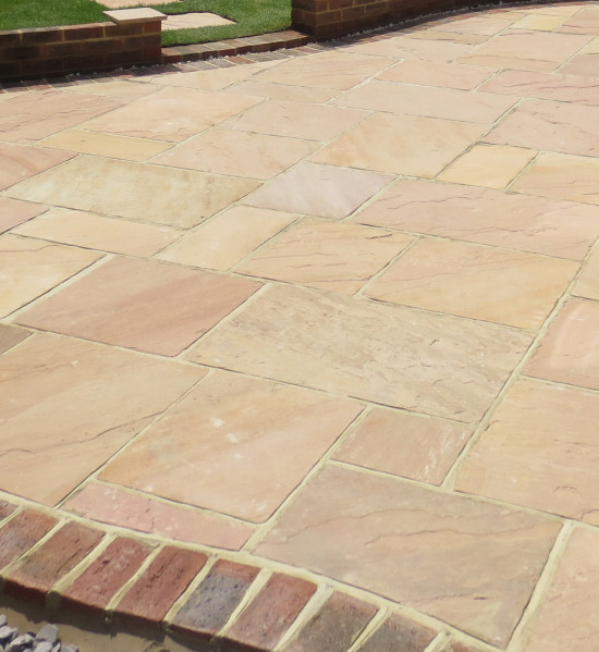 Rosamenta Calibrated Sandstone Paving