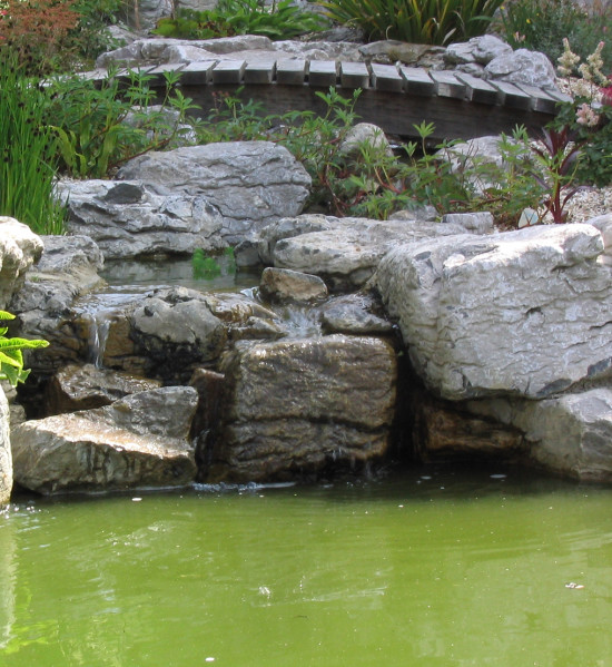 Irish Waterworn Limestone Rockery