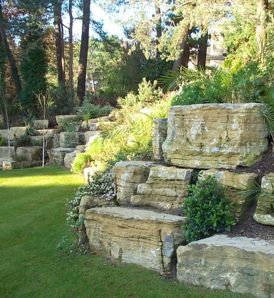 Purbeck Limestone Rockery