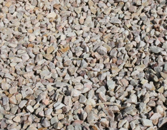 Rose Quartzite Chippings