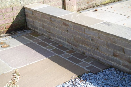 Verdi Imported Sandstone Tumbled Walling