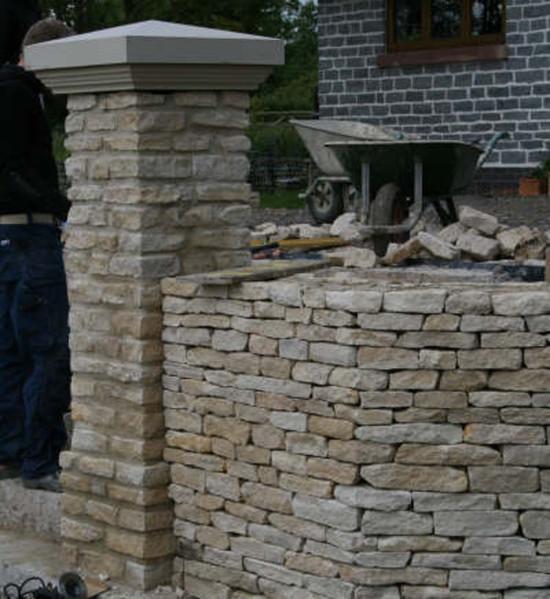 Cotswold Drystone Walling Random