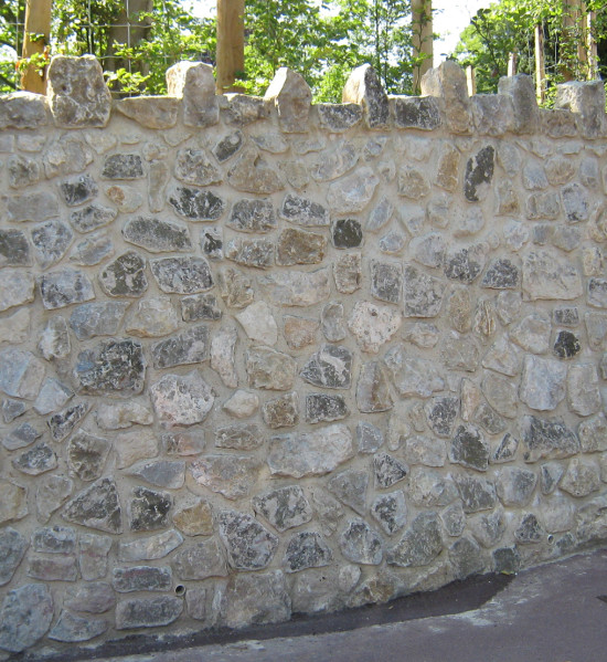 Kent Ragstone Random Rubble Walling