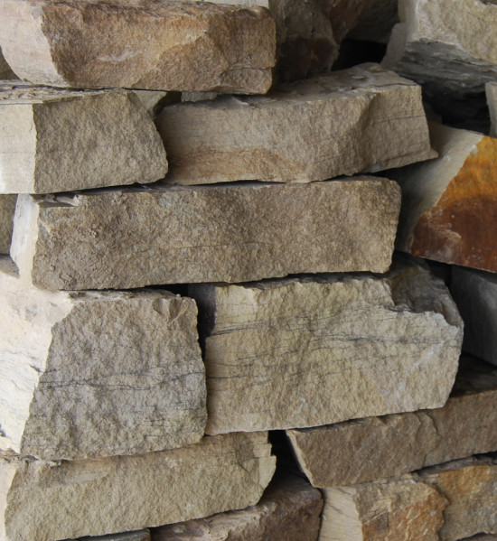 Yorkstone Cropped Walling