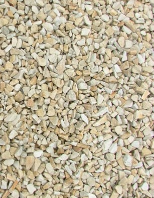 Gold Quartzite Chippings 10mm