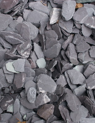 Blue Slate 40mm Chippings