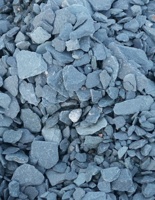 Slate Chippings 20mm or 40mm Blue, Plum and Green