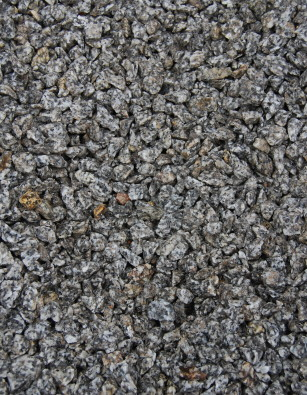 Silver Grey Granite Chippings