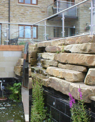 Yorkstone Flat Pieces Rockery