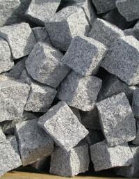 Granite Setts Silver Grey